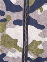 Куртка Herno GI0139U 100%хлопок Серо-зеленый Италия изображение 5