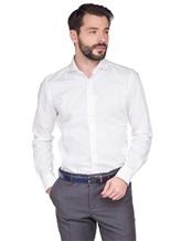 Рубашка XACUS 520ML 100%хлопок Белый Италия изображение 0
