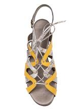 Босоножки Henry Beguelin SD3468 100% кожа Желтый Италия изображение 4