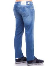 Джинсы Jacob Cohen PW620 C0MF 92% хлопок, 6% эластомультиэстер , 2% эластан Синий Италия изображение 2