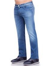 Джинсы Jacob Cohen PW620 C0MF 92% хлопок, 6% эластомультиэстер , 2% эластан Синий Италия изображение 3