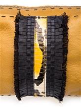 Сумка Henry Beguelin BD3540 100% кожа Горчичный Италия изображение 5