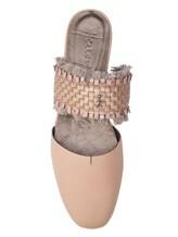 Шлепанцы Henry Beguelin SD3486 100% кожа Бежево-розовый Италия изображение 4