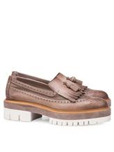 Туфли Santoni WUCC57191 100% кожа Серо-бежевый Италия изображение 0