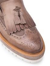 Туфли Santoni WUCC57191 100% кожа Серо-бежевый Италия изображение 5