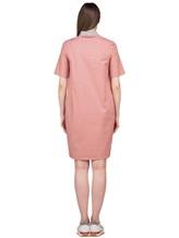 Платье Peserico S02884 96% хлопок 4% эластан Коралловый Италия изображение 4