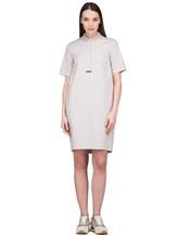Платье Peserico S02884 96% хлопок 4% эластан Светло-бежевый Италия изображение 0
