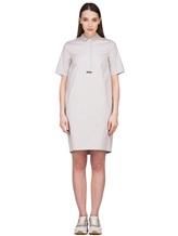 Платье Peserico S02884 96% хлопок 4% эластан Светло-бежевый Италия изображение 2