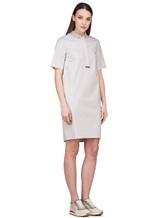 Платье Peserico S02884 96% хлопок 4% эластан Светло-бежевый Италия изображение 3