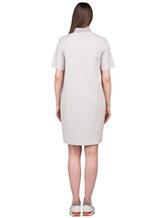 Платье Peserico S02884 96% хлопок 4% эластан Светло-бежевый Италия изображение 4