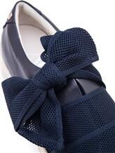 Кеды Attilio Giusti Leombruni D925101 100% кожа Темно-синий Италия изображение 5