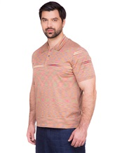 Поло Missoni 539120 100 % хлопок Оранжевый Италия изображение 3
