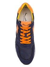 Кроссовки Voile Blanche 2012246 60% кожа, 40% нейлон Сине-оранжевый Сербия изображение 4
