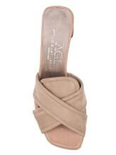 Босоножки Attilio Giusti Leombruni D644004 100% кожа Бежево-розовый Италия изображение 4