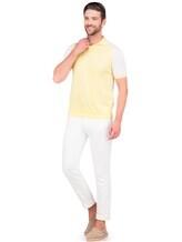 Джинсы Stile Latino Napoli PUKENT 100%хлопок Белый Италия изображение 0