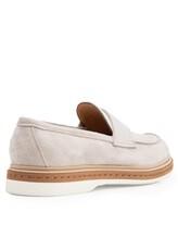 Туфли Santoni MGMG12940 100% кожа Светло-серый Италия изображение 3