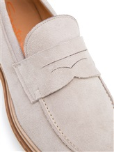 Туфли Santoni MGMG12940 100% кожа Светло-серый Италия изображение 5