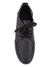 Кроссовки Henry Beguelin SU3008 100% кожа Темно-синий Италия изображение 4