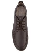 Кроссовки Henry Beguelin SU3008 100% кожа Темно-коричневый Италия изображение 4