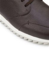 Кроссовки Henry Beguelin SU3008 100% кожа Темно-коричневый Италия изображение 5