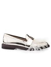 Туфли Lorena Antoniazzi LP3388S5 100% кожа Серо-бежевый Италия изображение 1