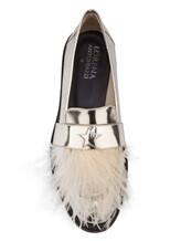 Туфли Lorena Antoniazzi LP3388S5 100% кожа Серо-бежевый Италия изображение 4