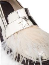 Туфли Lorena Antoniazzi LP3388S5 100% кожа Серо-бежевый Италия изображение 5
