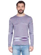 Джемпер Missoni 539122 100 % хлопок Сине-розовый Италия изображение 1