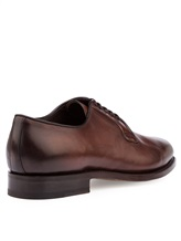 Ботинки Santoni MCCG13974 100% кожа Коричневый Италия изображение 3