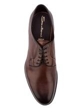 Ботинки Santoni MCCG13974 100% кожа Коричневый Италия изображение 4