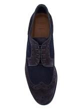Ботинки EREDA DU1555P0TERZ0 100% кожа Синий Италия изображение 4