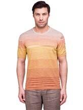 Футболка Missoni 539095 40% хлопок, 30% вискоза, 30% полиэстер Оранжевый Италия изображение 1