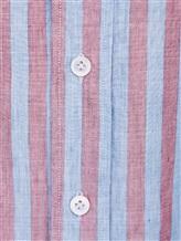 Рубашка Lardini EECIRO 56% хлопок, 44% флекс Голубой Италия изображение 4