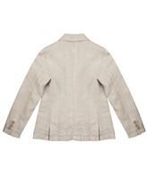 Пиджак 120% Lino N1B8862 100% лён Жемчужный Болгария изображение 2