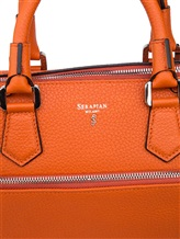 Сумка Serapian 6218 100% кожа Оранжевый Италия изображение 5
