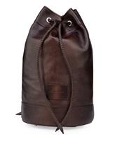 Рюкзак Santoni UIBBA1479 100% кожа Темно-коричневый Италия изображение 0