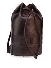 Рюкзак Santoni UIBBA1479 100% кожа Темно-коричневый Италия изображение 1