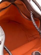 Рюкзак Santoni UIBBA1479 100% кожа Темно-коричневый Италия изображение 6
