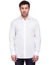 Рубашка XACUS 333ML 100%хлопок Белый Италия изображение 1