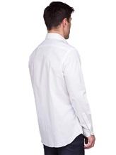 Рубашка XACUS 333ML 100%хлопок Белый Италия изображение 3