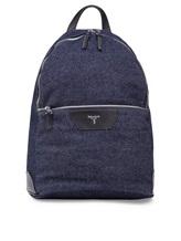 Рюкзак Serapian 6924 95% хлопок, 5% кожа Темно-синий Италия изображение 0