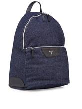 Рюкзак Serapian 6924 95% хлопок, 5% кожа Темно-синий Италия изображение 1