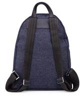 Рюкзак Serapian 6924 95% хлопок, 5% кожа Темно-синий Италия изображение 2