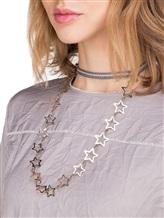 Ожерелье Lorena Antoniazzi LP33101C01 100% хлопок Серо-белый Италия изображение 3