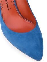 Туфли Santoni WDHZ57183 100% кожа Темно-голубой Италия изображение 5