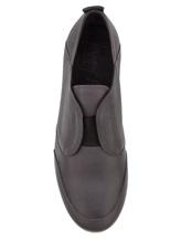 Кроссовки Henry Beguelin SU3407 100% кожа Темно-серый Италия изображение 4