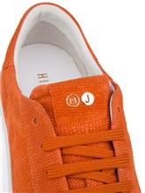 Кеды HIDE&JACK GKOLORGWHT 100% кожа Оранжевый Италия изображение 5