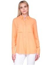 Рубашка IRISvARNIM 182203 100% шёлк Оранжевый Китай изображение 0