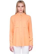 Рубашка IRISvARNIM 182203 100% шёлк Оранжевый Китай изображение 1