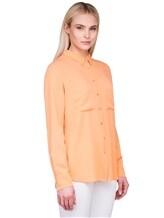 Рубашка IRISvARNIM 182203 100% шёлк Оранжевый Китай изображение 2
